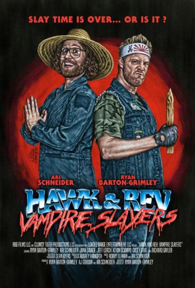 Hawk e Rev: Matadores de Vampiros